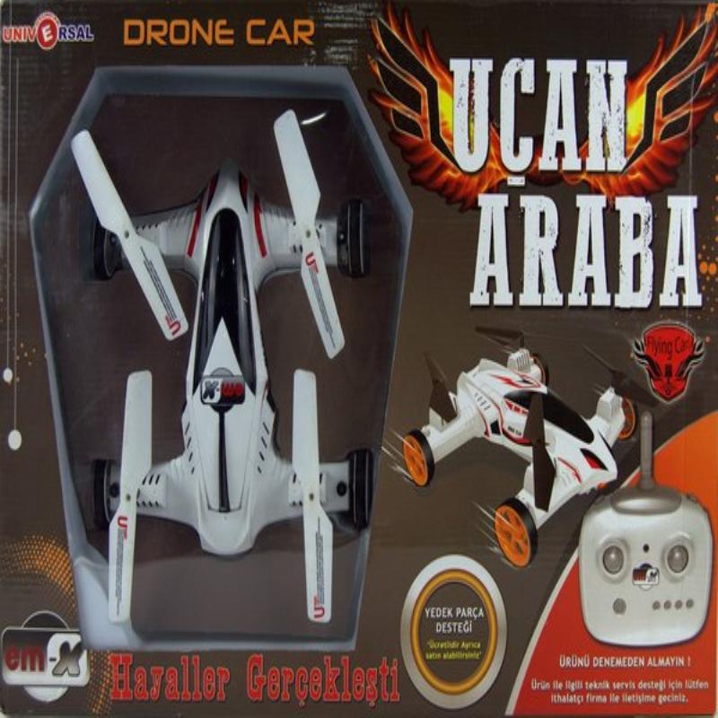 UÇAN ARABA, DRONE CAR, HEM DRONE HEM ARABA